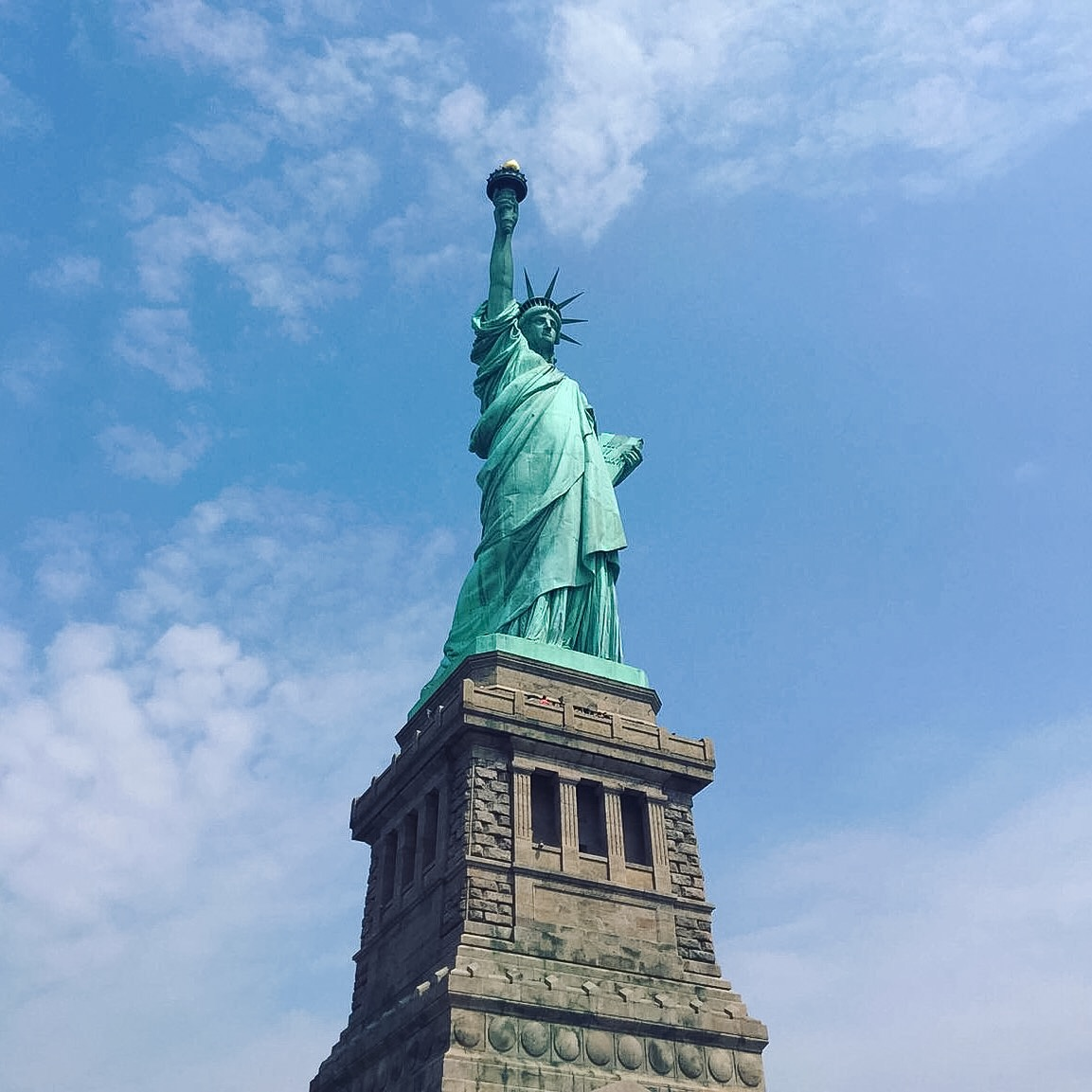 How gorgeous is Lady Liberty?