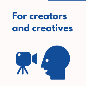 for creators and creatives